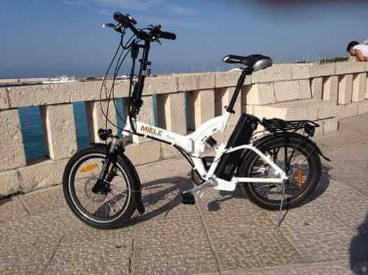 Claudio Otranto bici elettrica