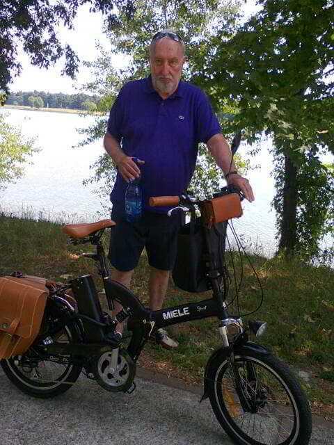 Pippo Cova Milano bici elettrica