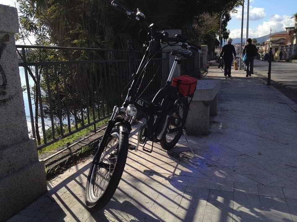 Marcello stretto di messina bici elettrica px 20 miele