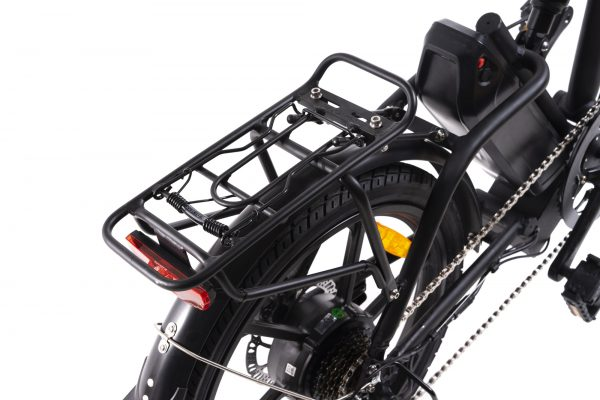 bici elettrica miele portapacchi