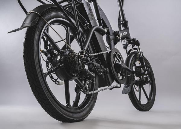 bici pieghevole pedalata assistita cerchi in lega