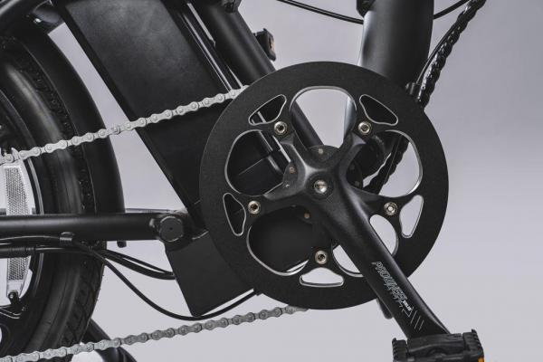 bici pieghevole pedalata assistita corona 48 t