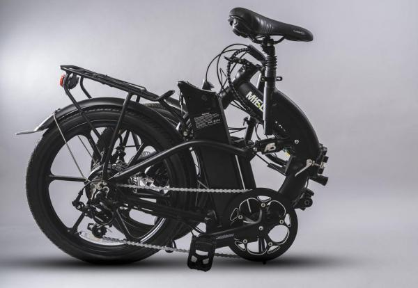 bici pieghevole pedalata assistita piegata misure