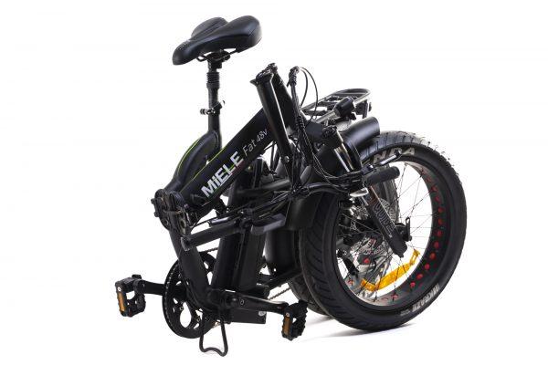 bici elettrica pieghevole chiusa