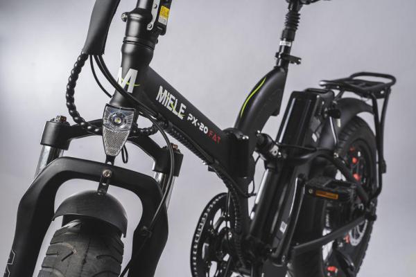 bici elettriche pieghevoli forcelle ammortizzate