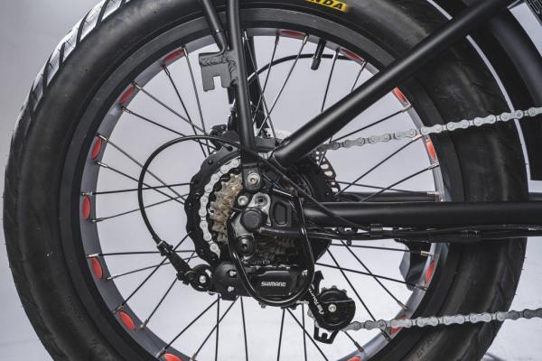 bici elettriche pieghevoli motore 250 watt e 500 watt