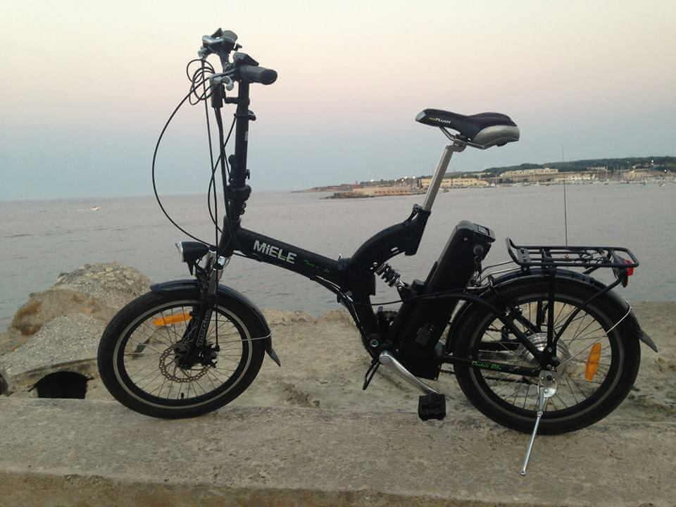 Giuseppe Otranto bici elettrica Miele