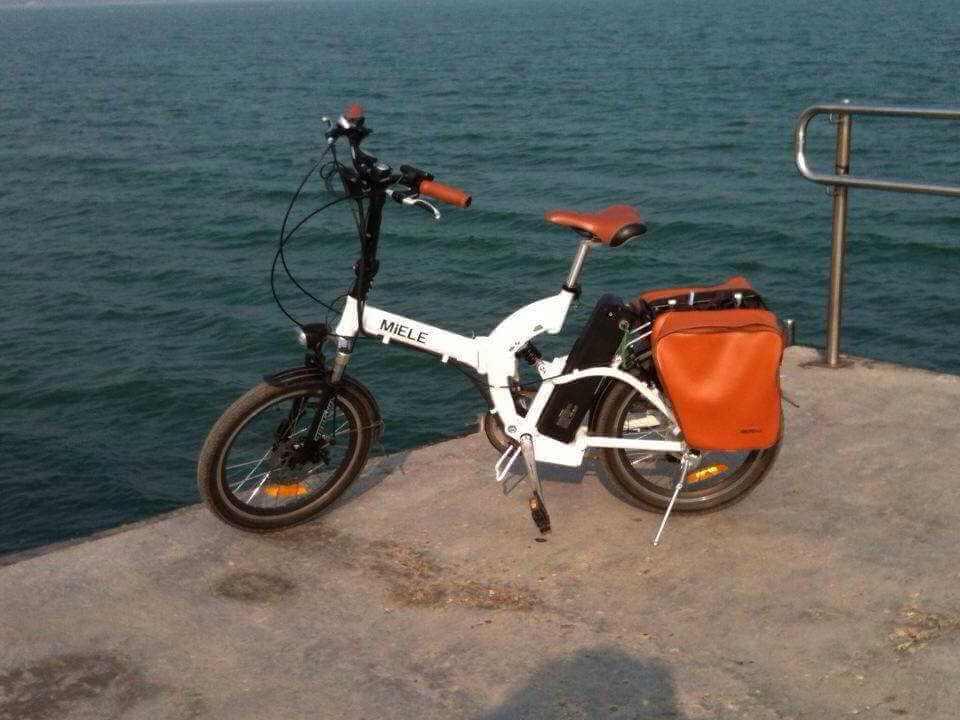 Pietro Calì Norvegia Bici elettrica Px 20