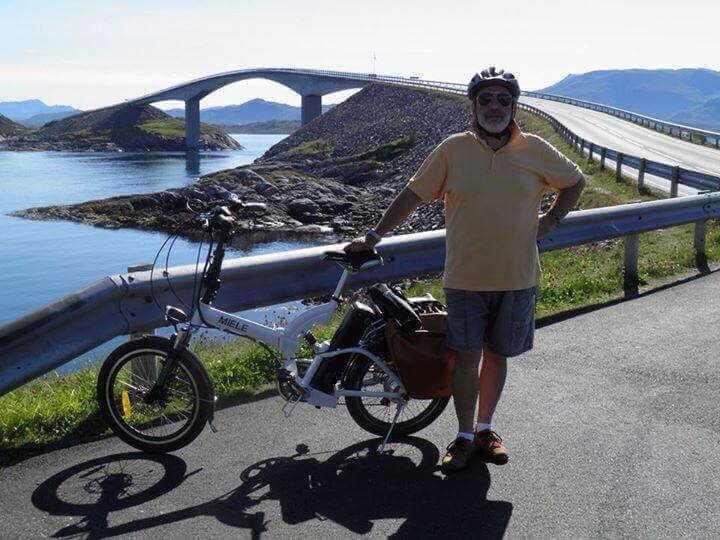 Pietro Calì norvegia bici elettrica