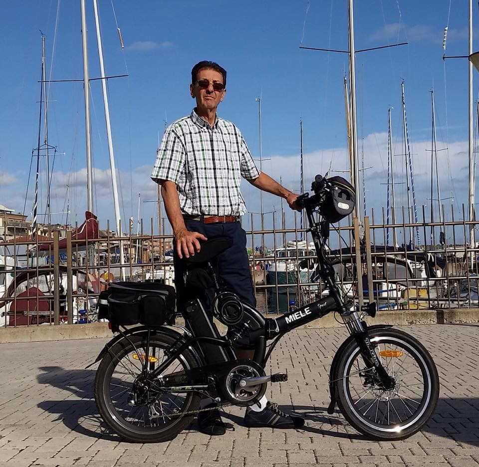 Pietro D'Orazi Roma bici elettrica