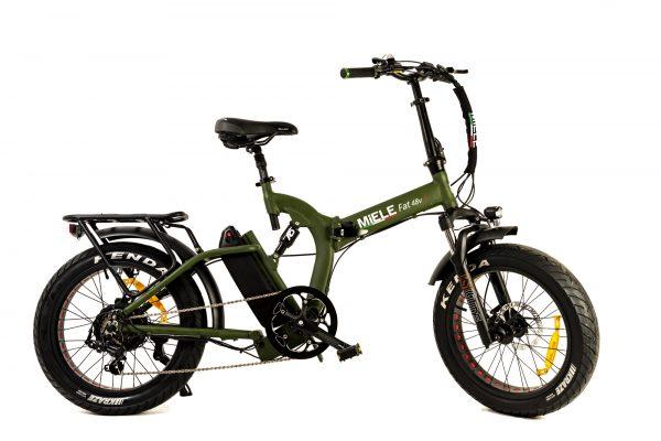 fat bike pieghevole elettrica miele