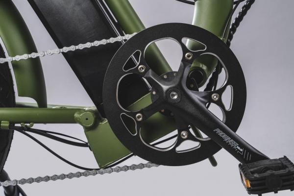 bici pieghevole elettrica corona 52T