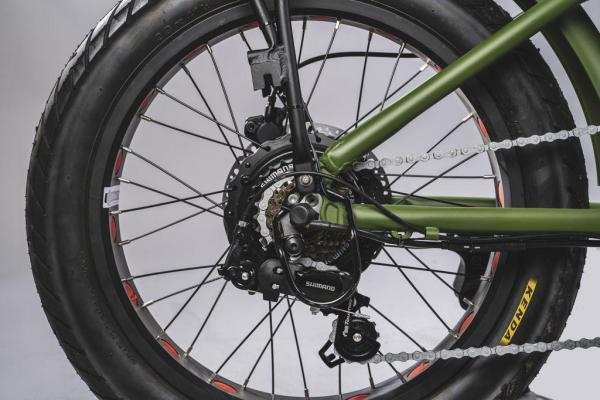 bici pieghevole elettrica motore 250 watt e 500 watt