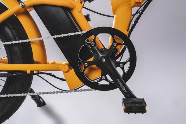 bicicletta elettrica pieghevole corona 52T