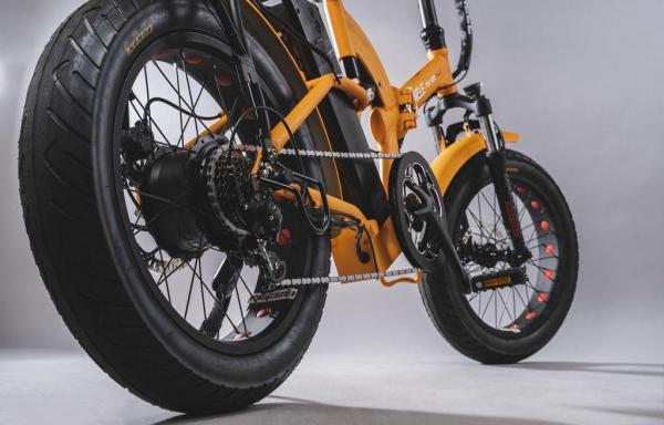 bicicletta elettrica pieghevole fat