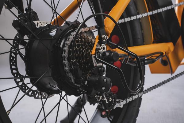 bicicletta elettrica pieghevole motore 250 watt e 500 watt