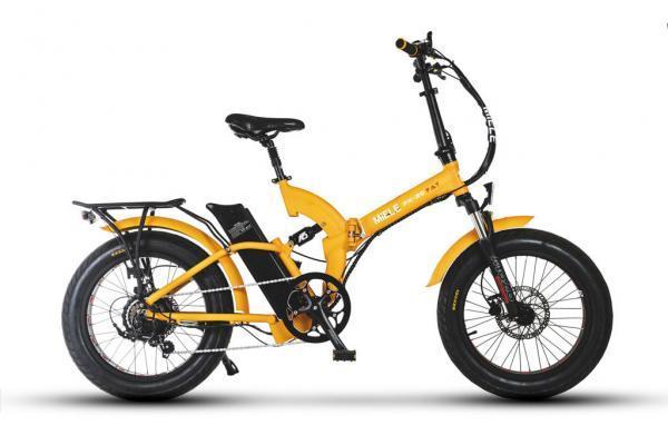 bicicletta elettrica pieghevole potente