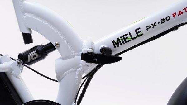 chiusura nuova bici elettrica miele