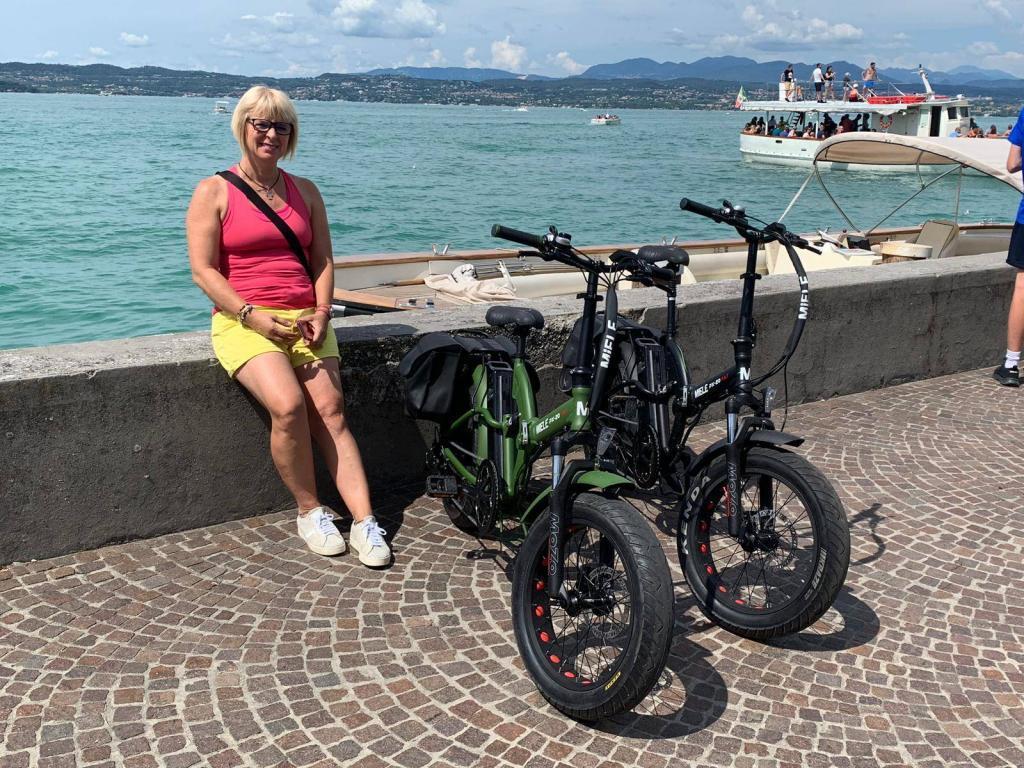 bici elettrica lago di garda