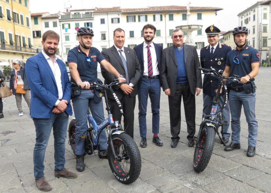 bici elettriche a pedalata assistita polizia di prato