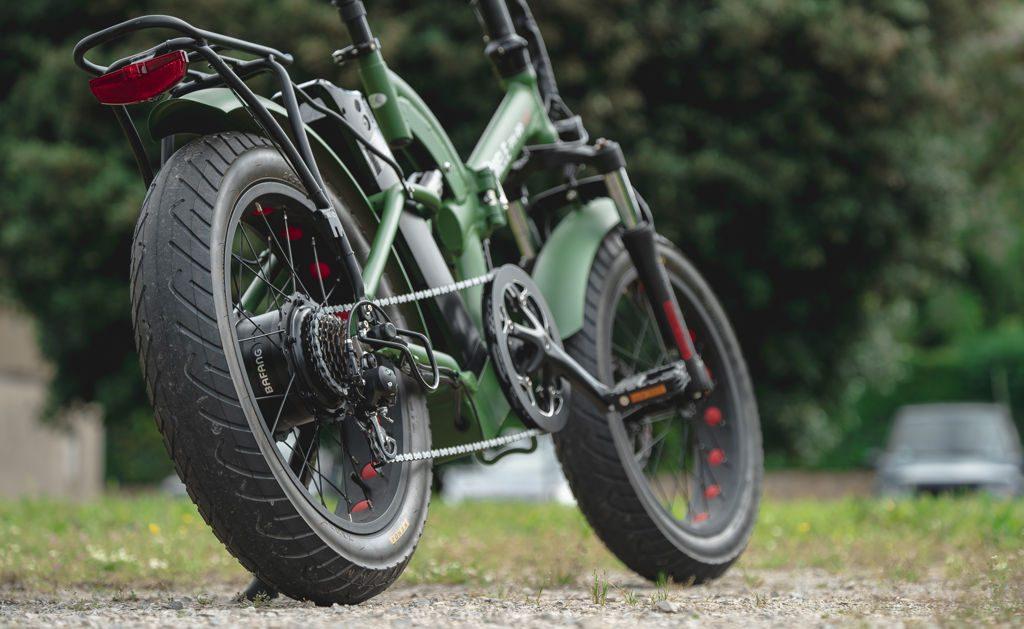 la bici elettrica è un investimento .