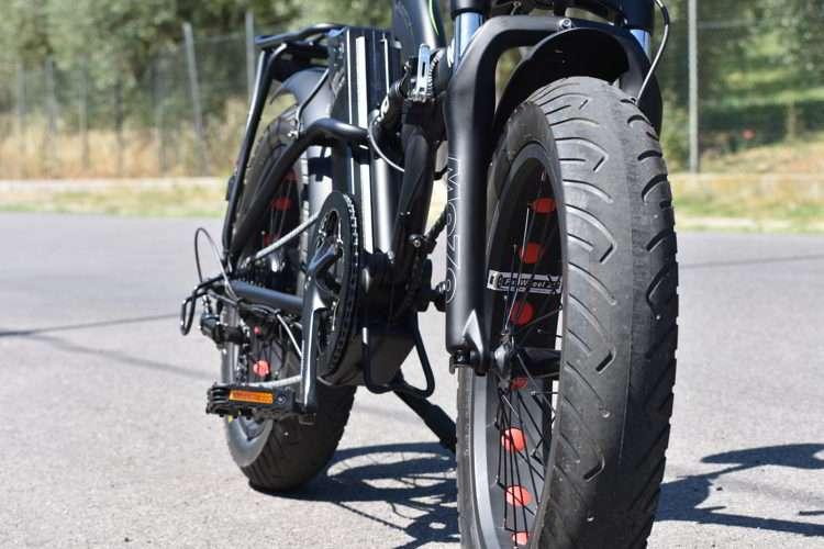 potente bici elettrica pieghevole