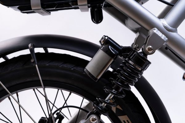 bici elettrica e cross ammortizzatori posteriori
