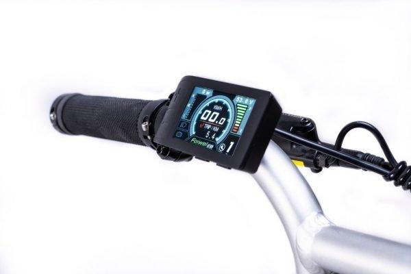 bici elettrica e cross display colore