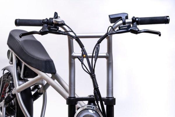 bici elettrica e cross manubrio pro