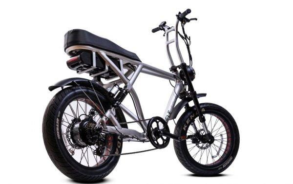 bici elettrica e cross profilo